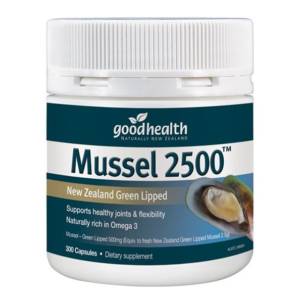 Good Health Mussel 2500 300 Capsules