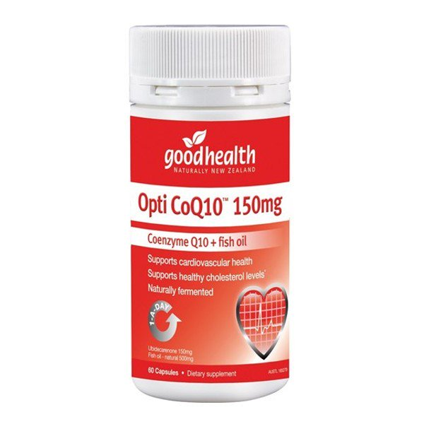 Good Health Opti CoQ10 150mg 60 Capsules
