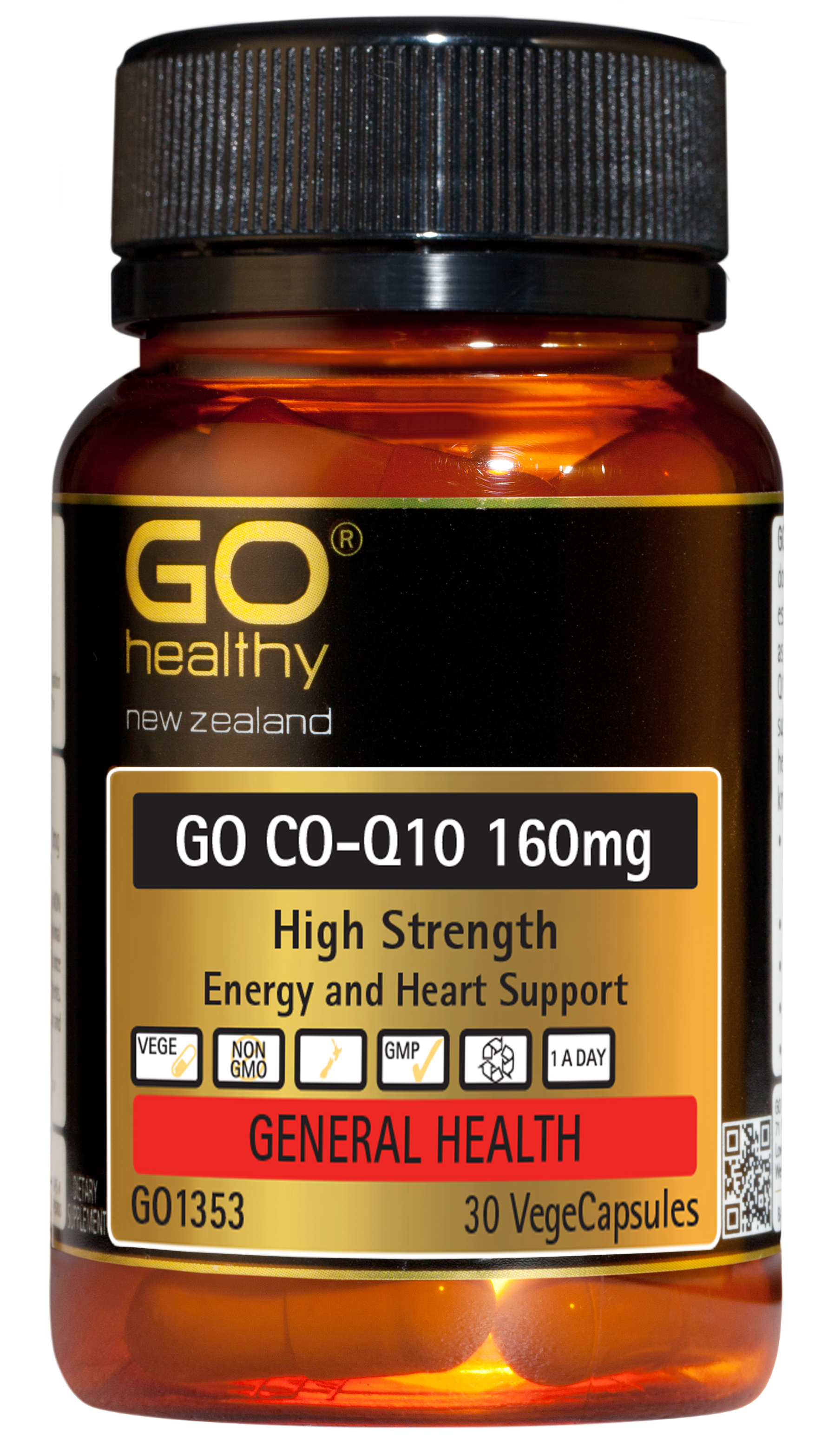 Go Healthy Co-Q10 160mg 30 VegeCaps