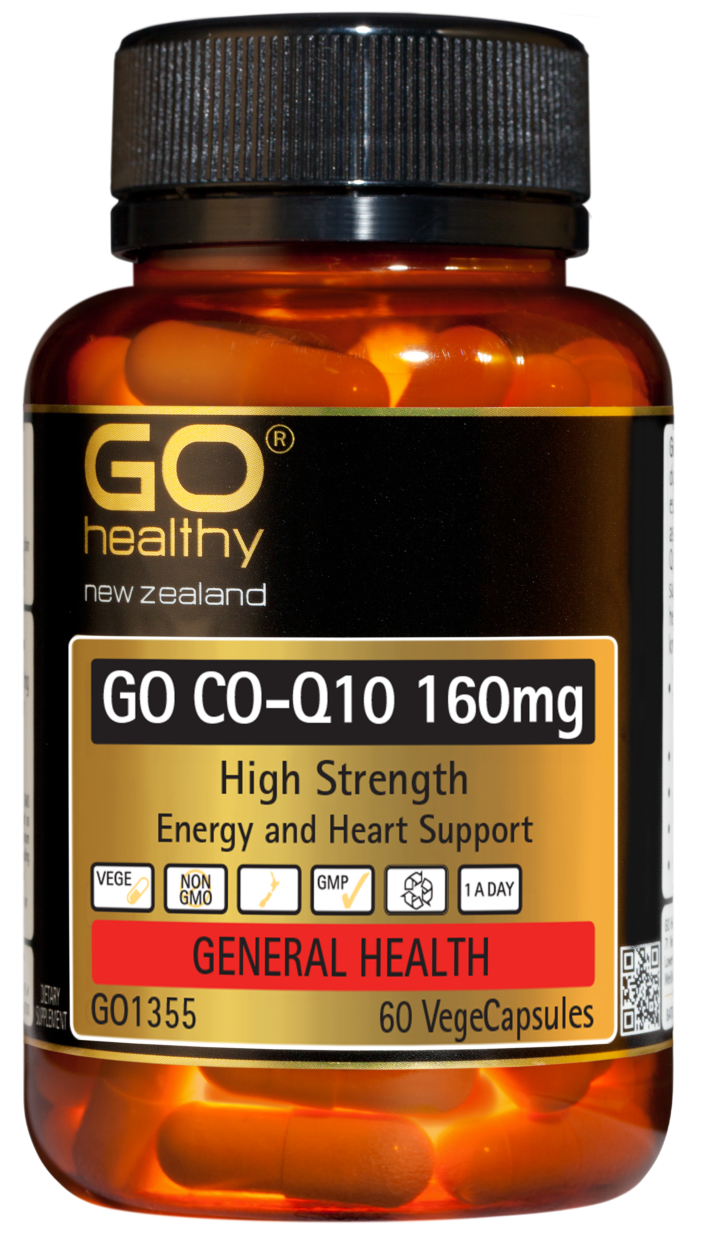 GO Healthy Co-Q10 160mg 60 VegeCaps
