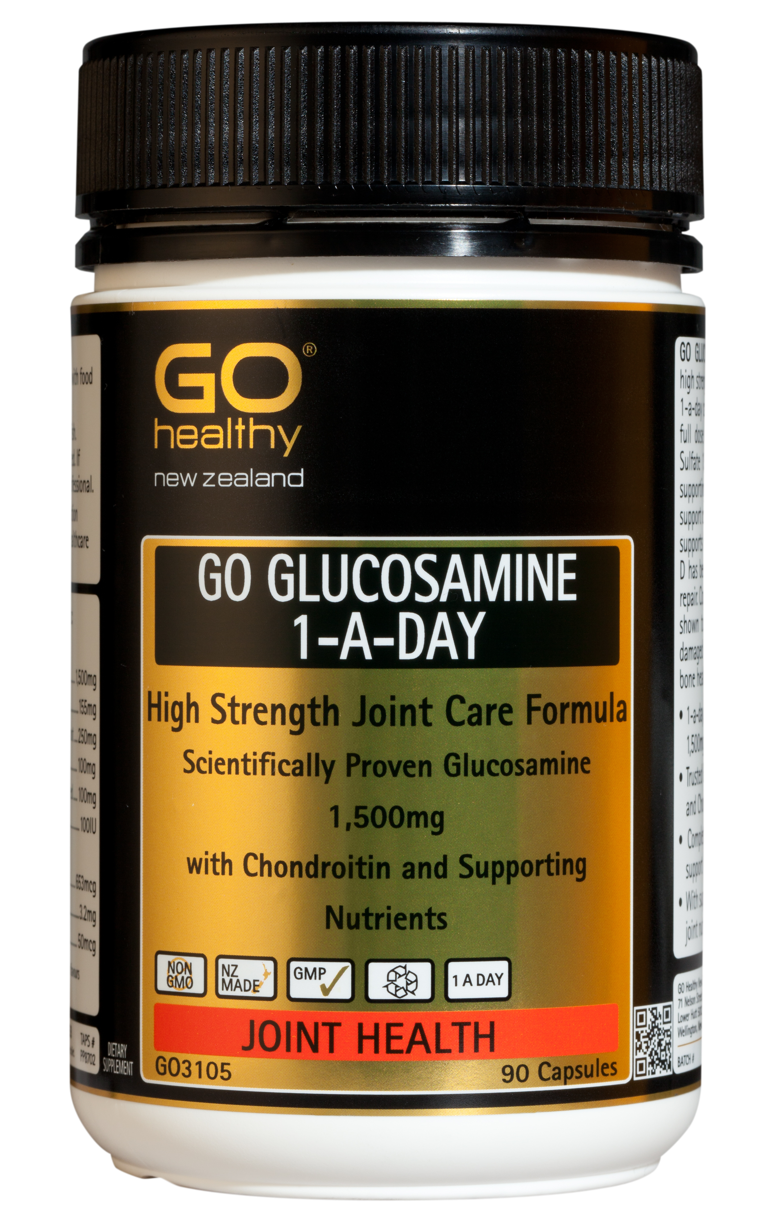GO Healthy Glucosamine 1-A-Day 90 Capsules