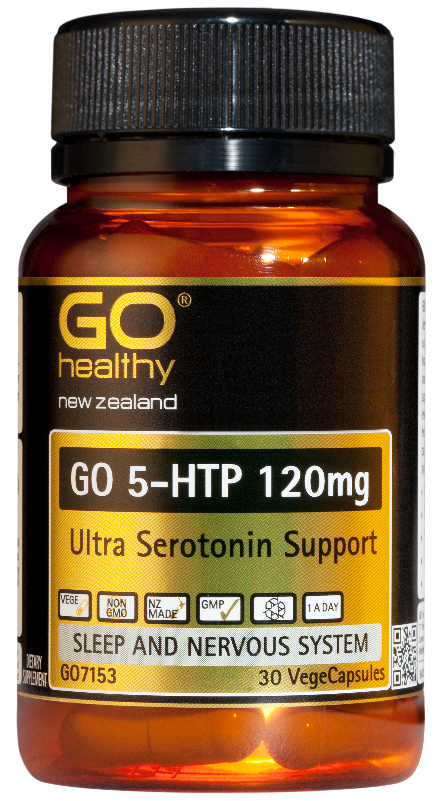 Go Healthy 5-HTP 120mg 30 VegeCaps