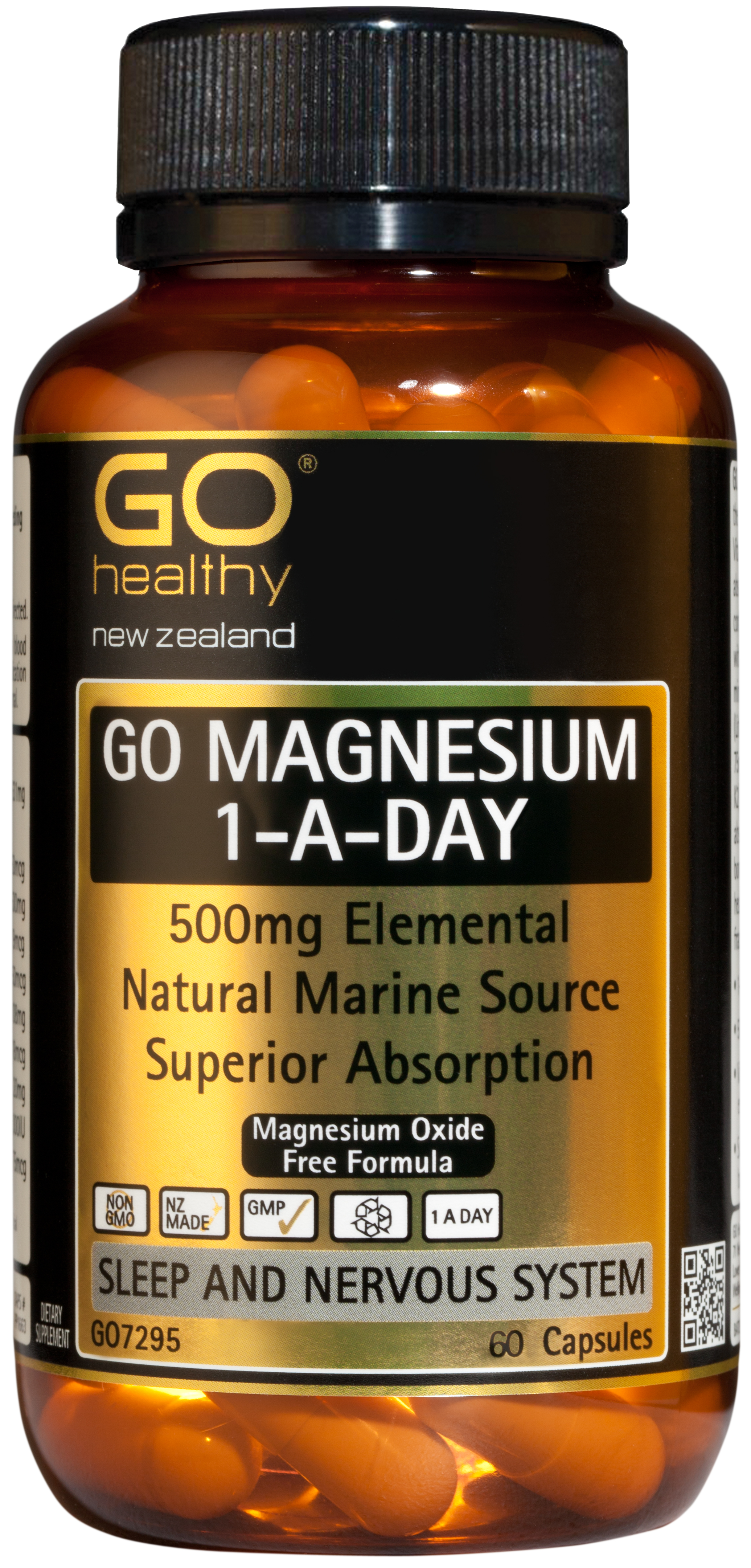 GO Healthy Magnesium 1-A-Day 60 Capsules