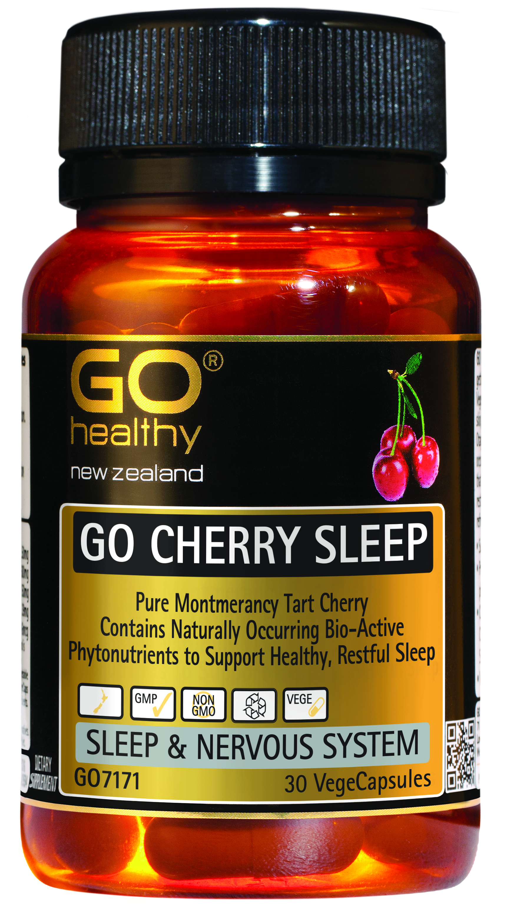 Go Healthy Cherry Sleep 30 Vege Capsules