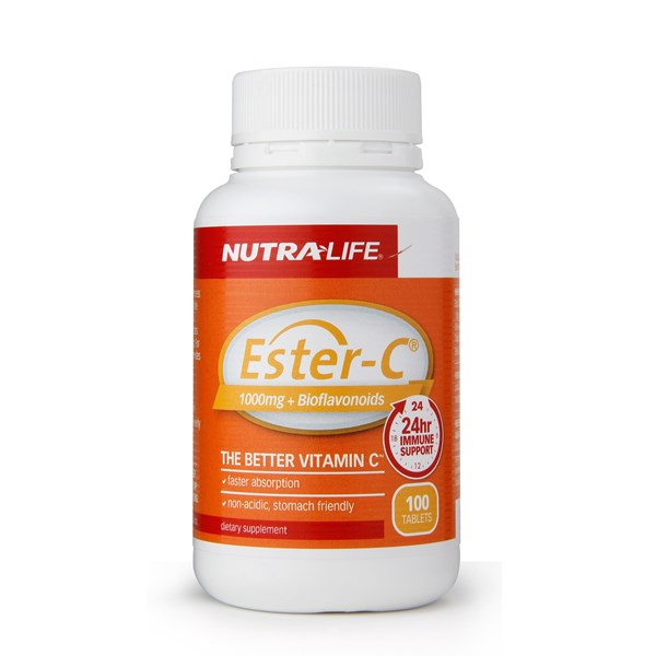 Nutra-life Ester C + Bioflavonoids 1000mg 100 Tablets