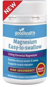 Good Health Magnesium Easy To Swallow 90 Capsules