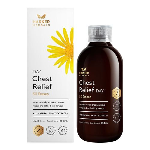 Harker Herbals Chest Relief Day 250ml