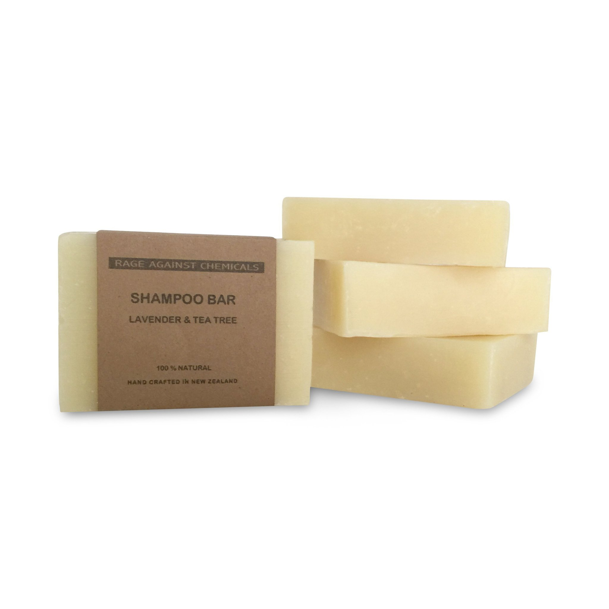 Shampoo Bar - Lavender & Tea Tree 100g