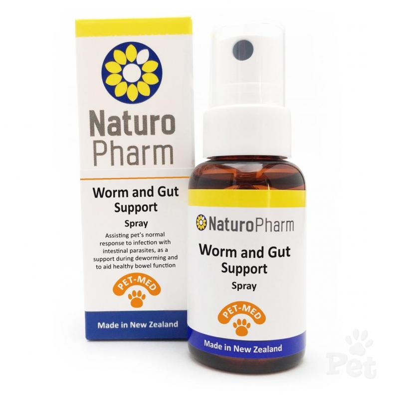 Pet Med Worm and Gut Support Spray 25ml