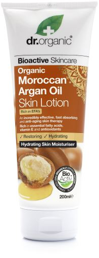 Dr Organic Skin Lotion Moroccan Argan Oil 200ml