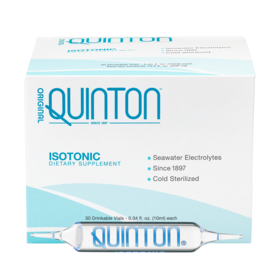Quinton Isotonic Electrolytes 30 Drinklable Ampoules