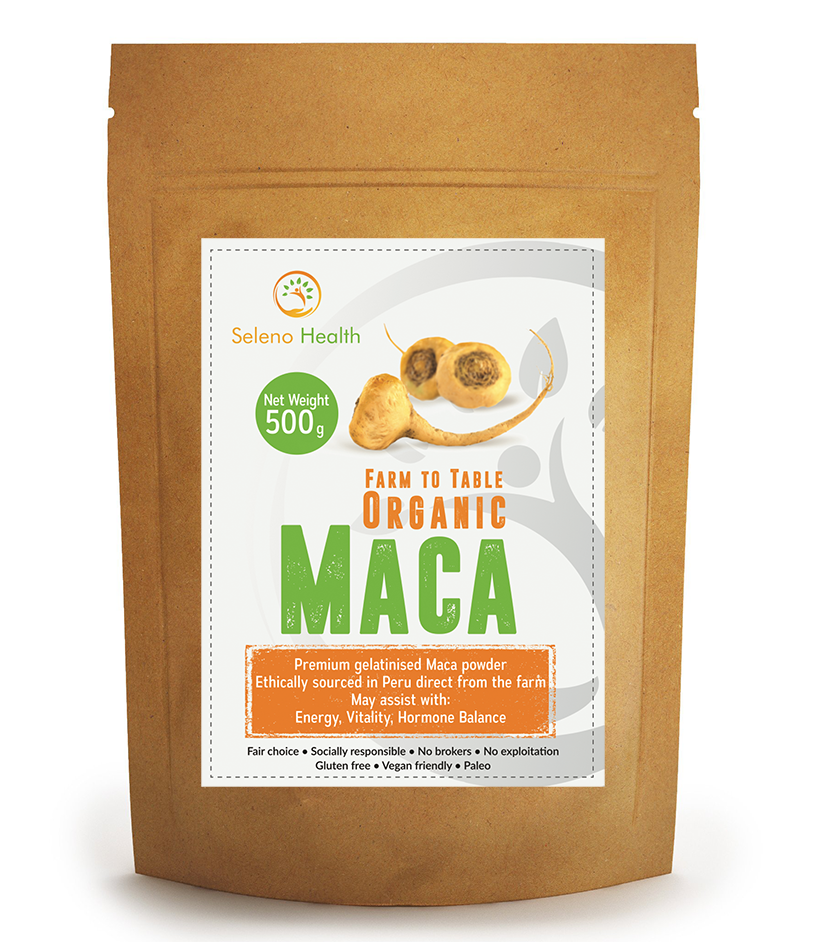 Seleno Health Maca Yellow 500g