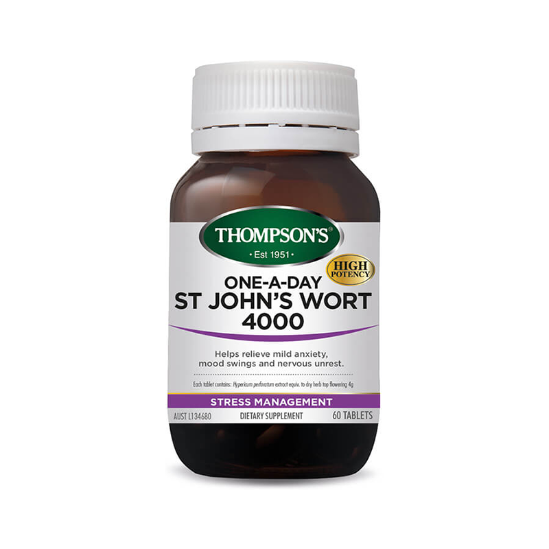 Thompsons St Johns Wort 60 tabs