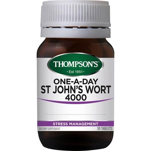 Thompsons St Johns Wort 30 tabs