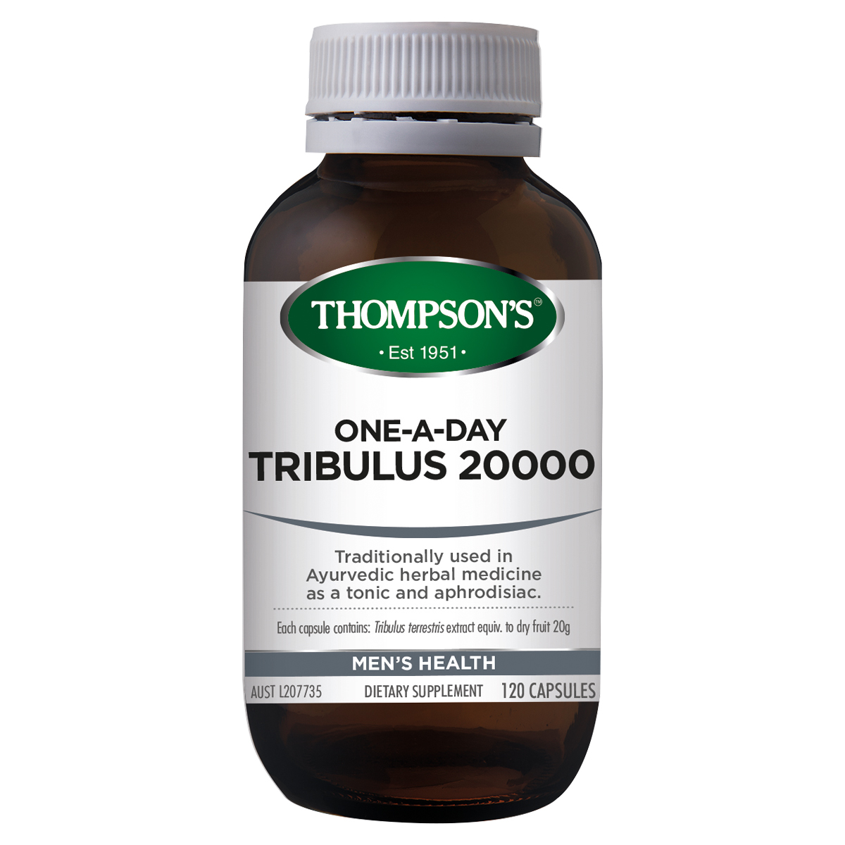Thompsons Tribulus 20,000 120 Capsules