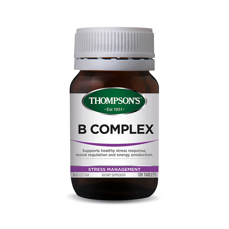 Thompsons Vitamin B Complex 100 Tablets