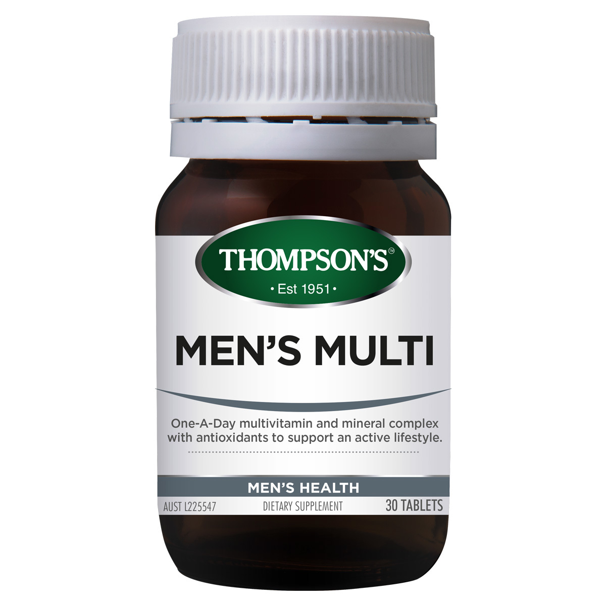Thompsons Mens Multi 30 Tablets