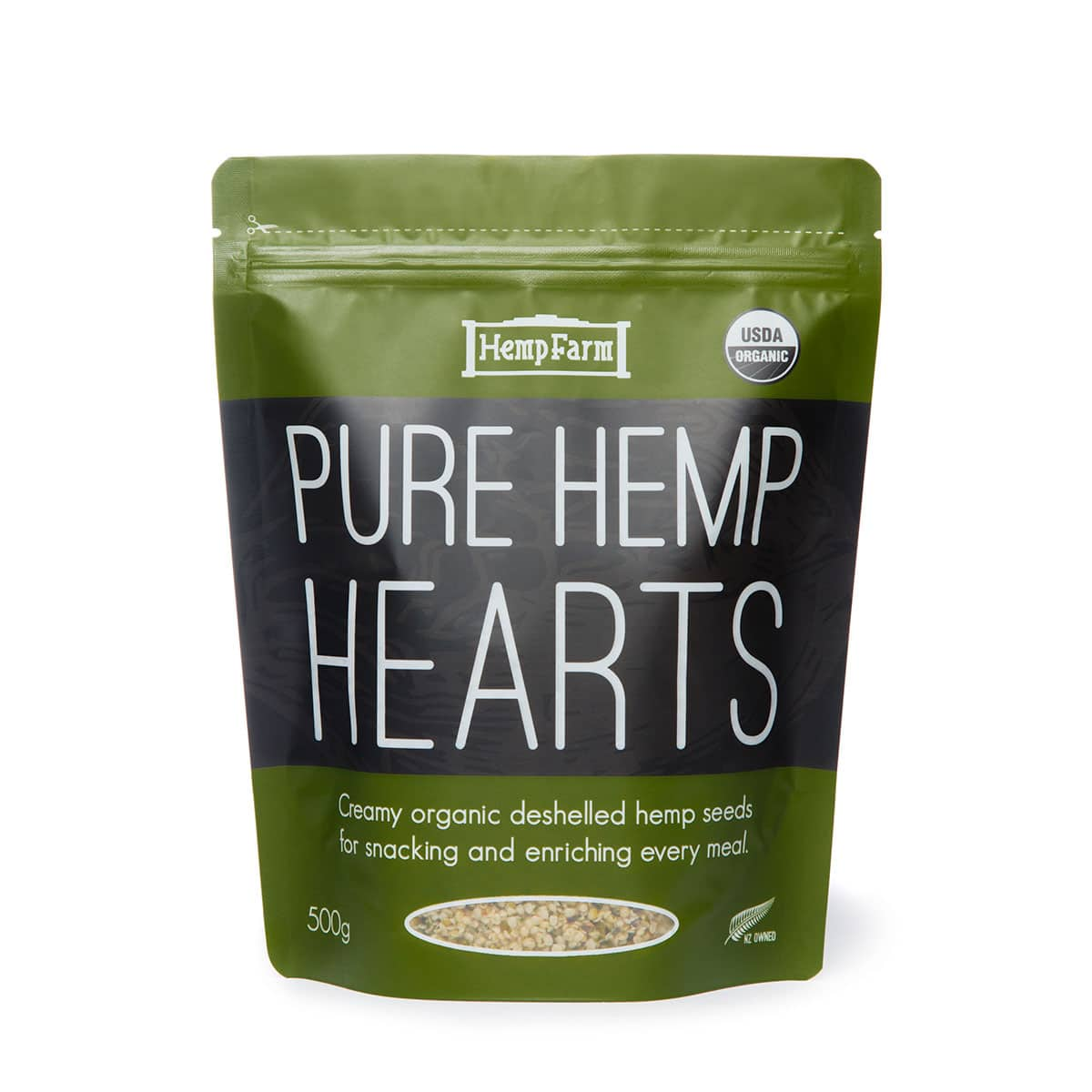 Hemp Farm Pure Hemp Seed Hearts Organic 500gm