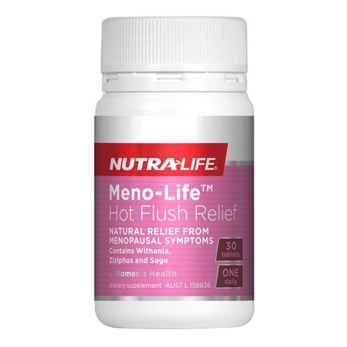 Nutra-Life Meno Life Hot Flush Relief 30 Tablets