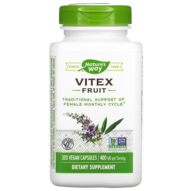 Nature's Way Vitex 100 Capsules