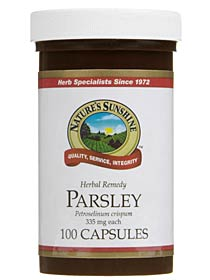 Nature's Sunshine Parsley 100 Capsules