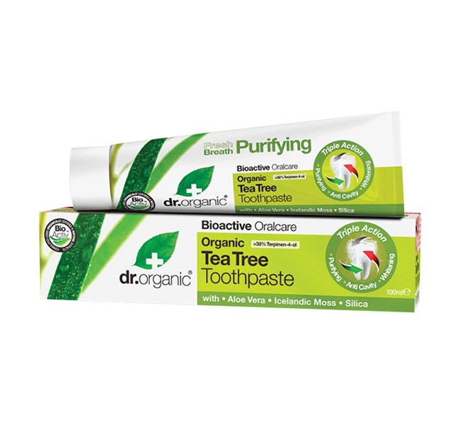 Dr Organic Tea Tree Toothpaste 100ml