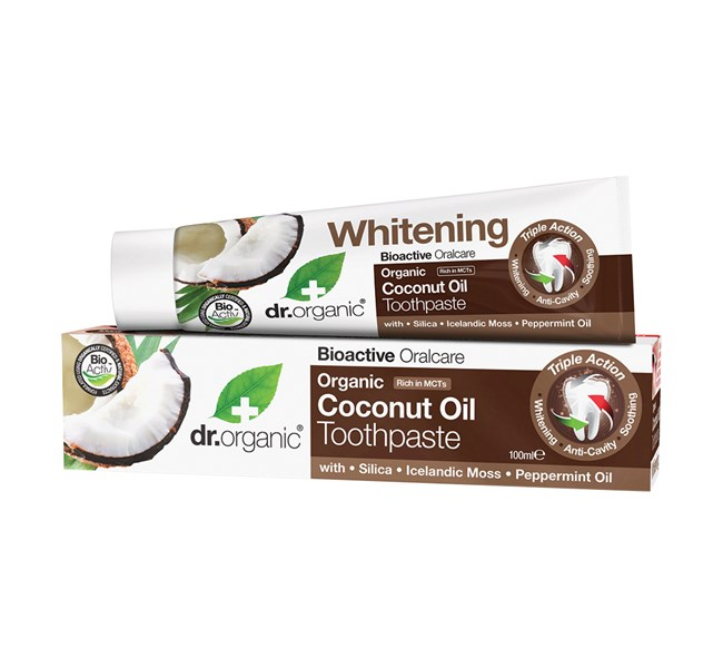 Dr Organic Coconut Toothpaste 100ml