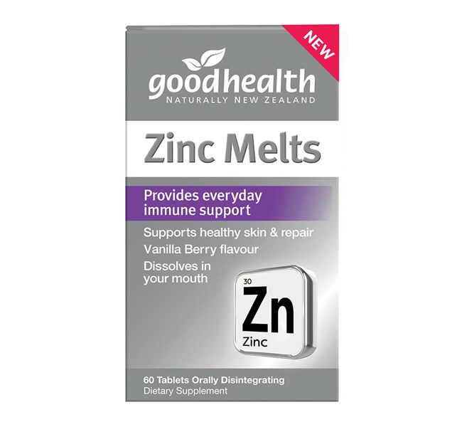 Good Health Zinc Melts 60 Tablets