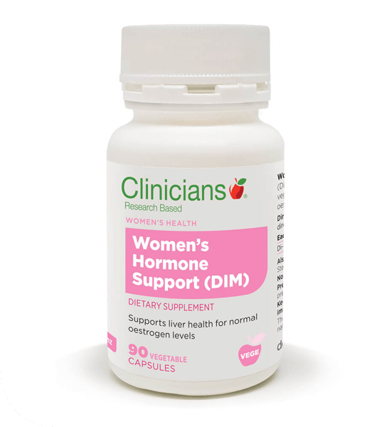 Clinicians Womens Hormone Support (DIM) 90 Capsules