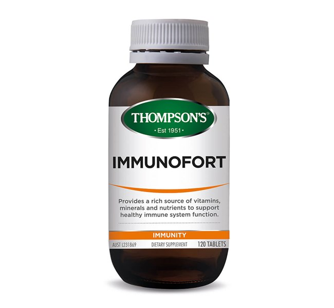 Thompsons Immunofort 120 Tablets