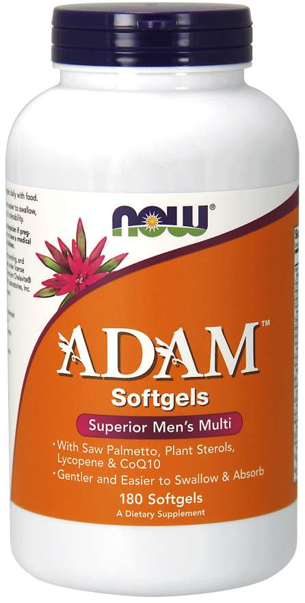 Now Superior Multi for Men Adam 90 Softgels