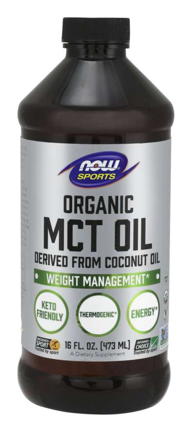 Now Sports MCT Oil Organic 473ml