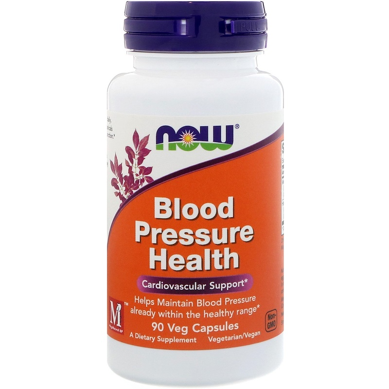 Now Blood Pressure Health 90 Vege Caps