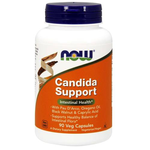 Now Candida Support 90 Vege Caps