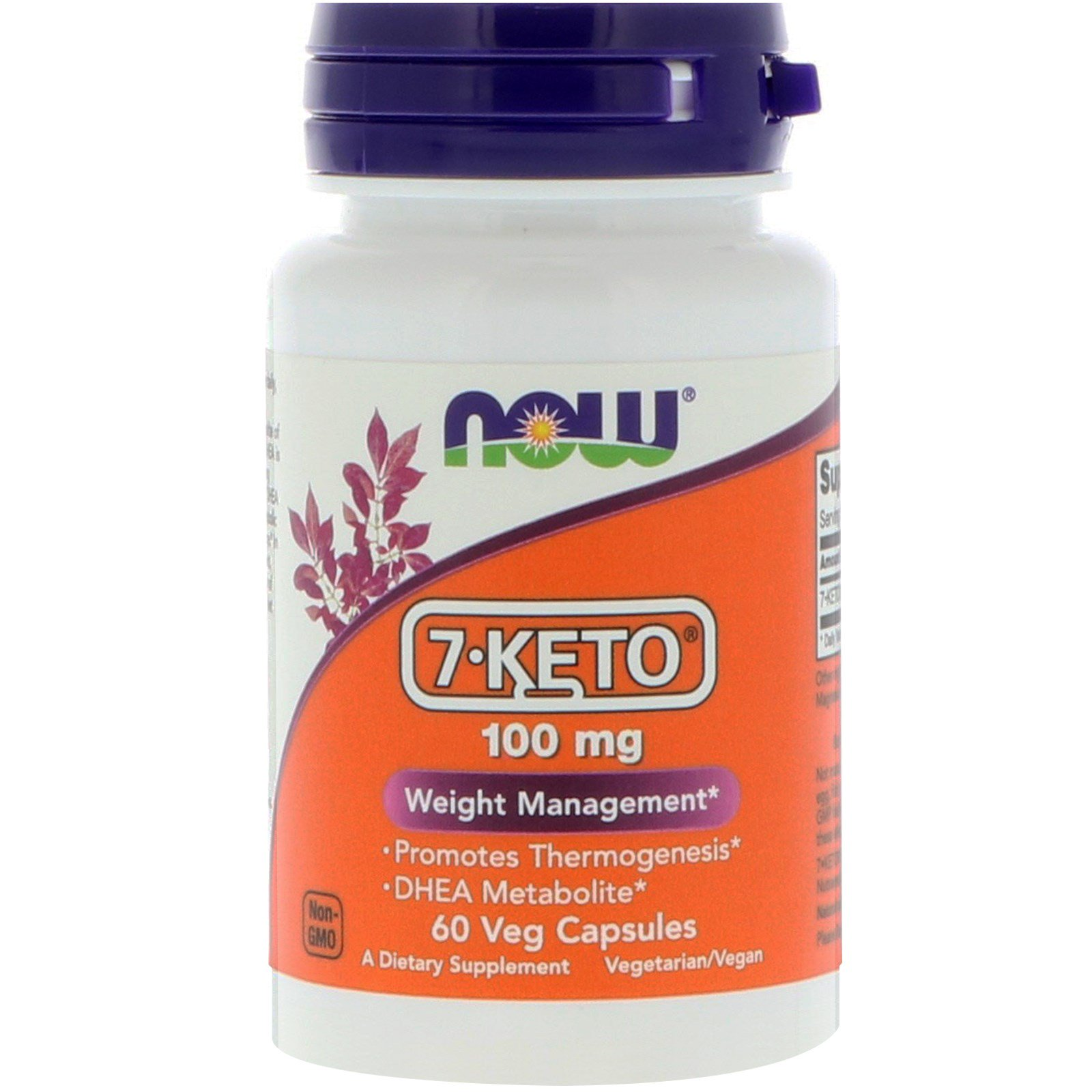 Now 7 Keto 100mg 60 Vege Capsules