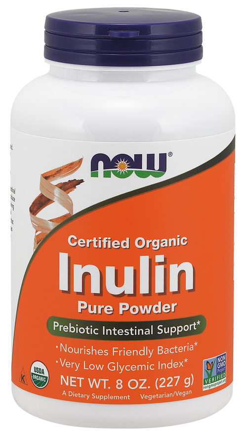 Now Inulin Prebiotic Powder 227g