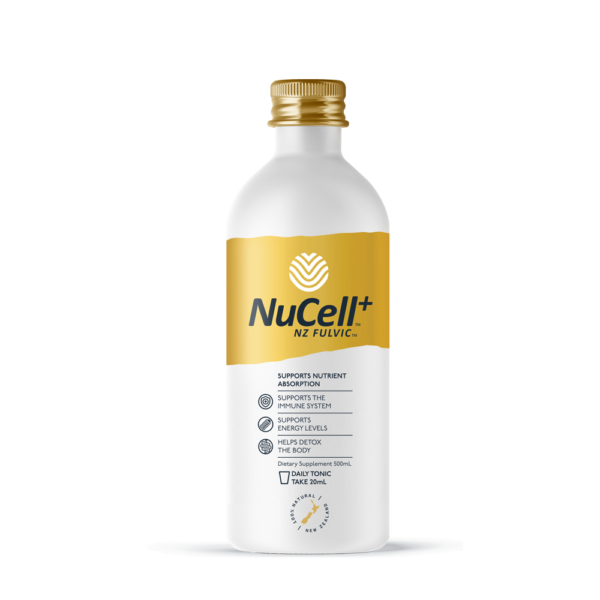 NuCell (NZ Fulvic) Daily Recharge Tonic 500ml