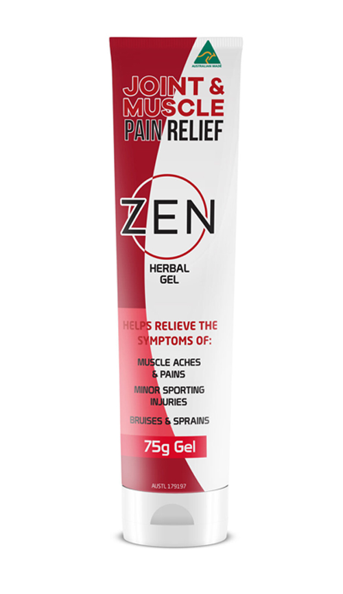 Zen Pain Relief Herbal Gel 75g