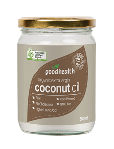 Good Health Coconut Oil Organic 500ml