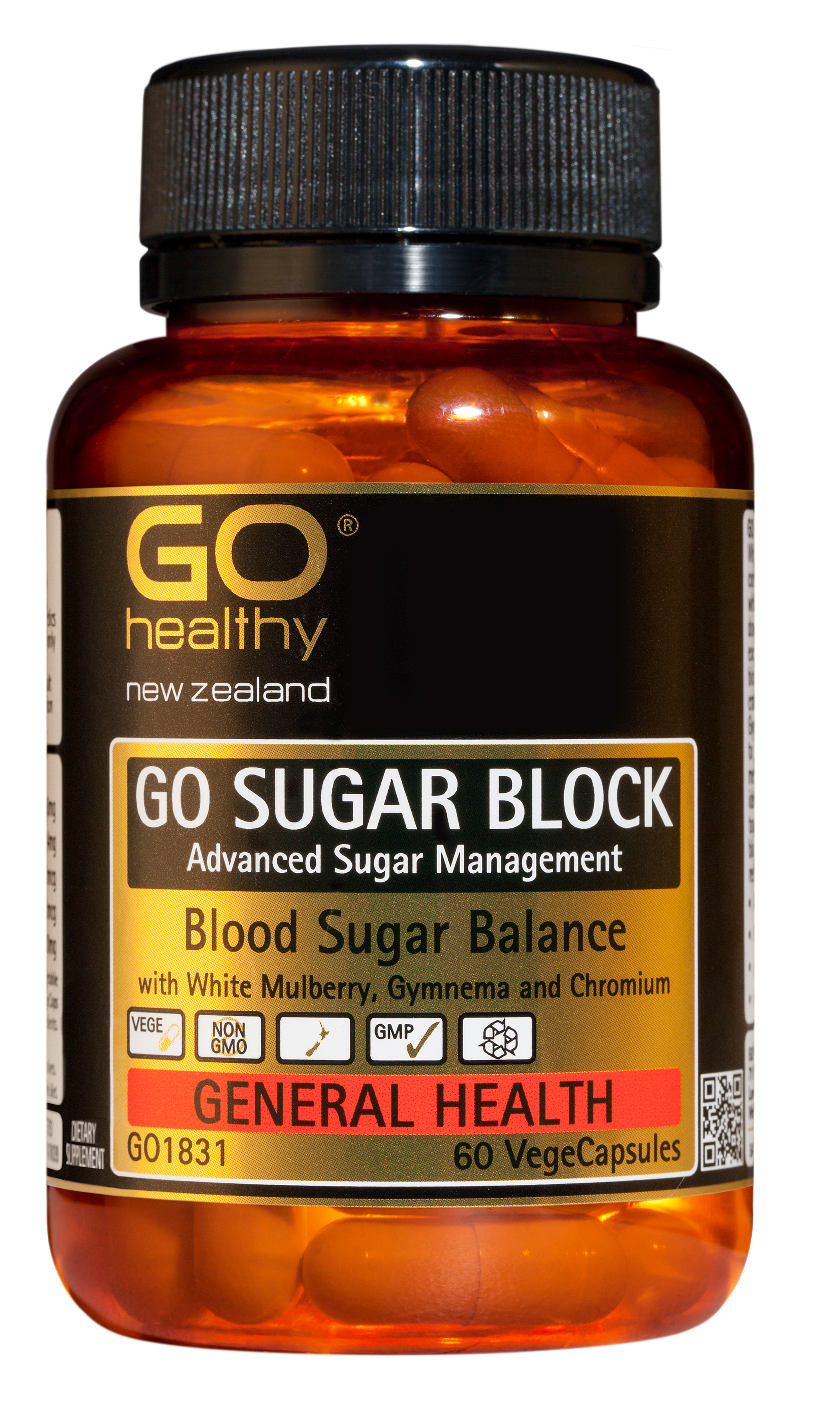 GO Healthy SugarBlock 60 caps