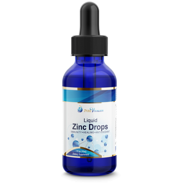 Pure Vitality Zinc Drops 30ml