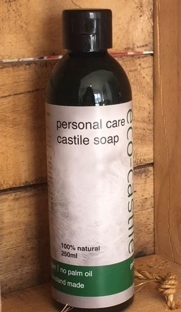 EcoBeings Personal Care Castille Soap 250ml