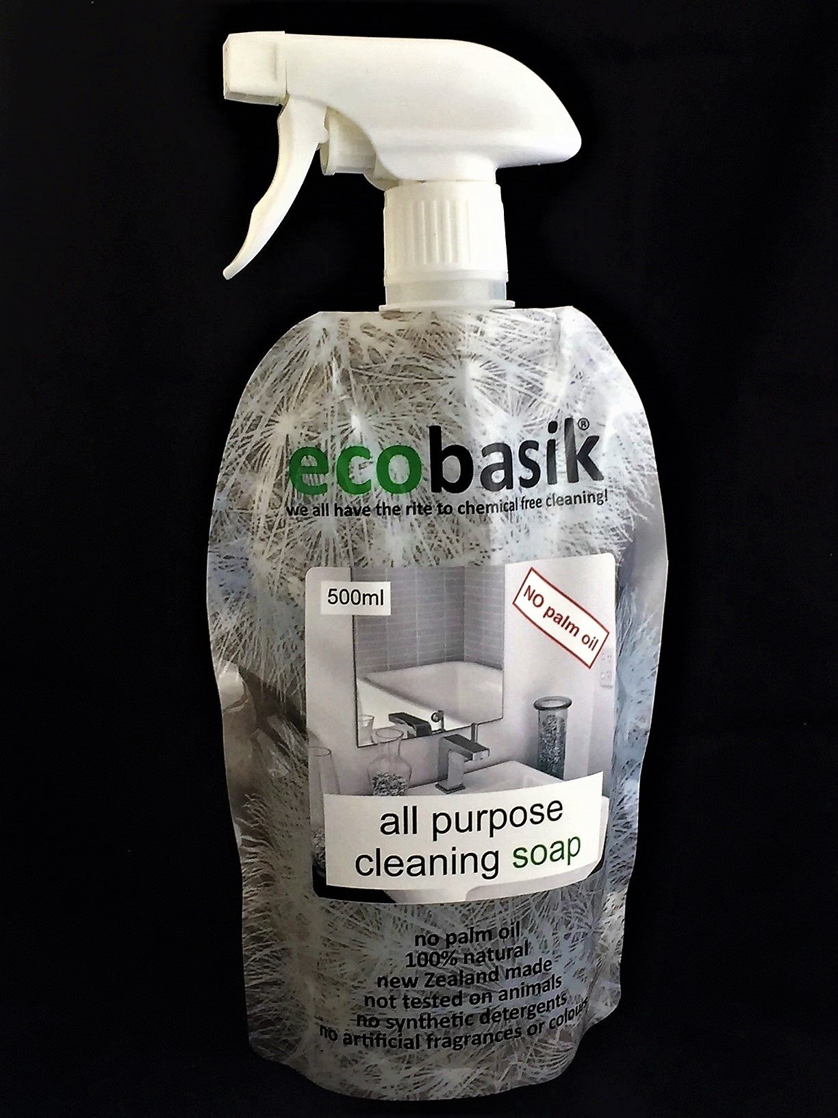 EcoBasik All Purpose Cleaning Soap Spray 500ml