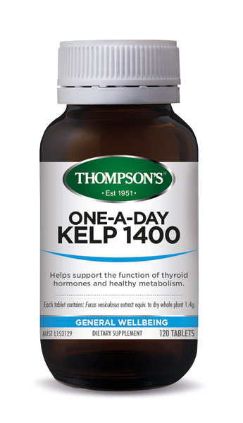 Thompsons Kelp 1400 120 Tablets