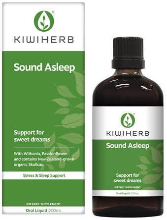 Kiwiherb Sound Asleep 200ml