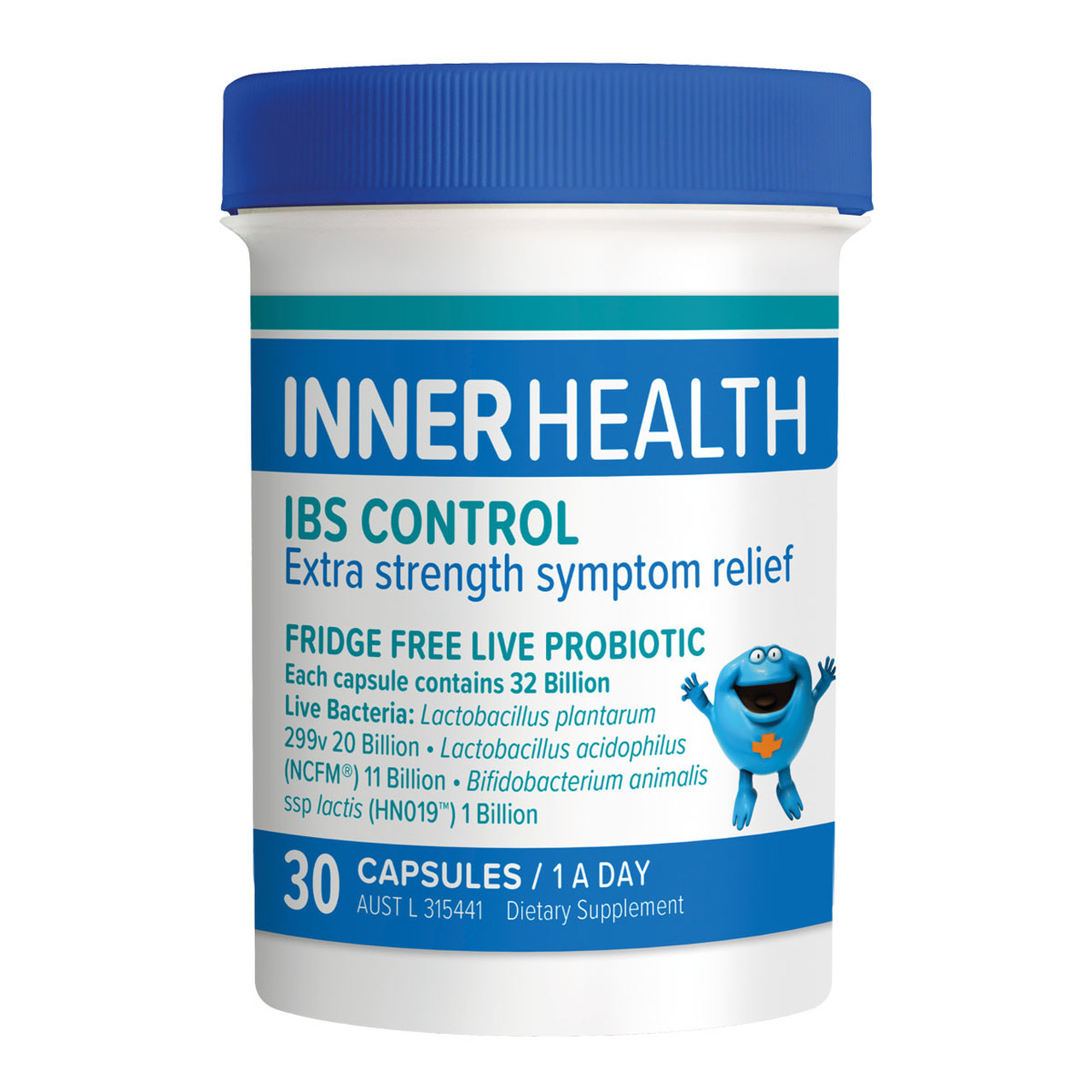 Ethical Nutrients Inner Health IBS Control 30 Capsules