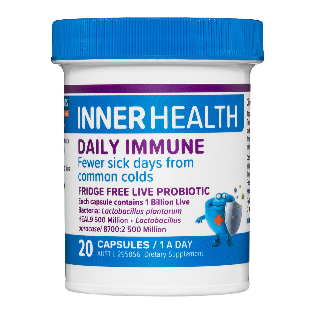 Ethical Nutrients Inner Health Daily Immune 20 Capsules