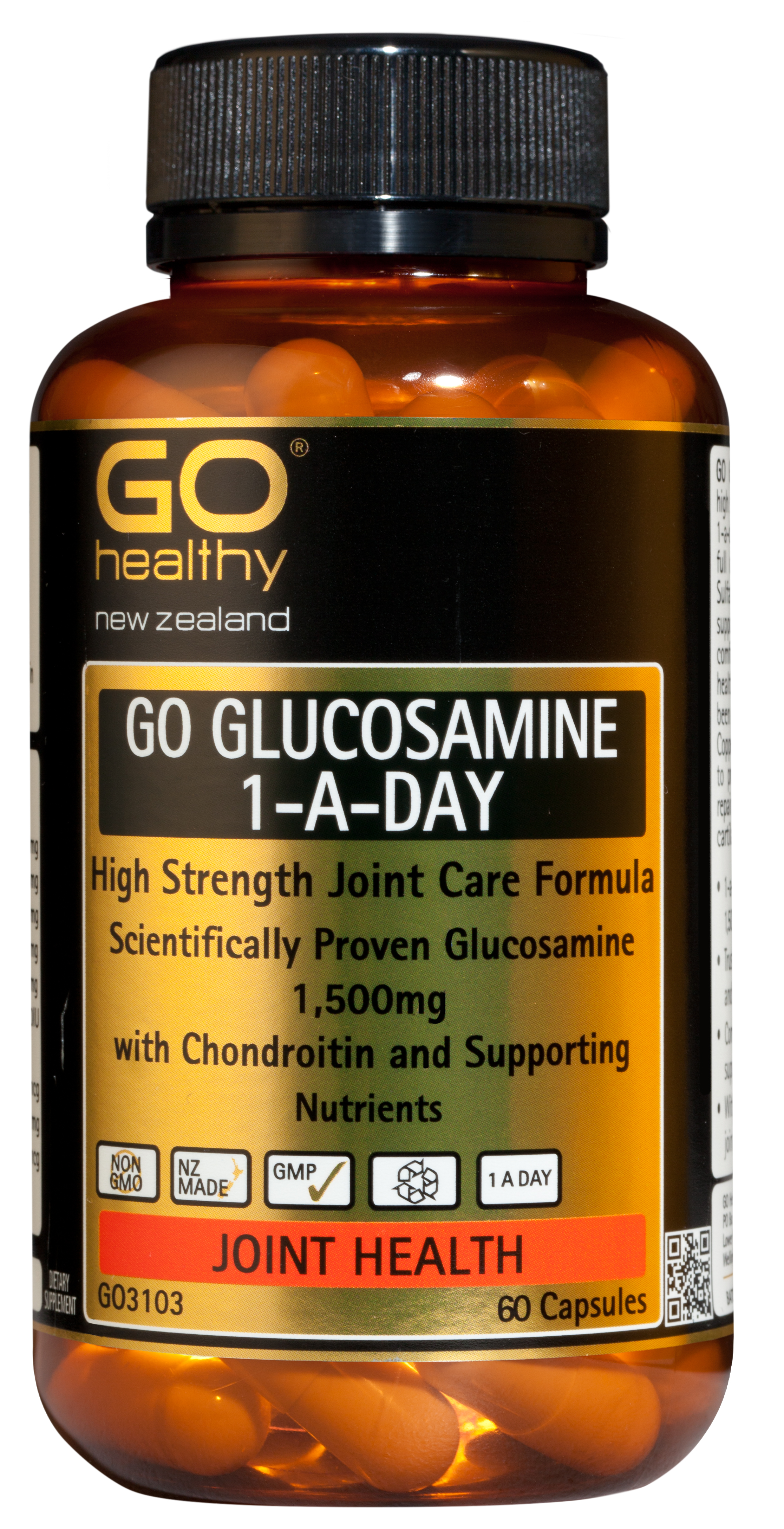 GO Healthy Glucosamine 1-A-Day 60 Capsules