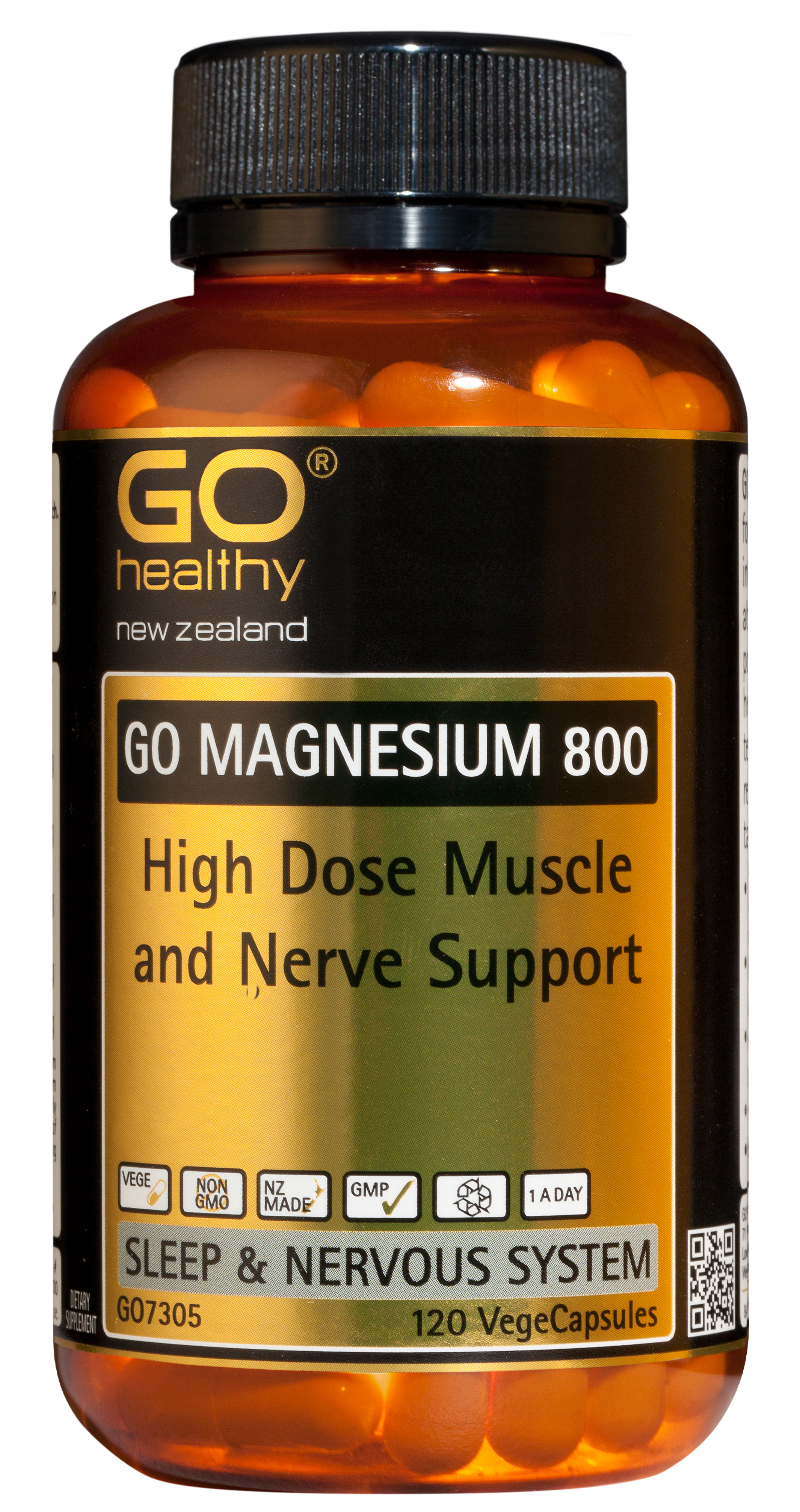 GO Healthy Magnesium 800 120 VegeCaps