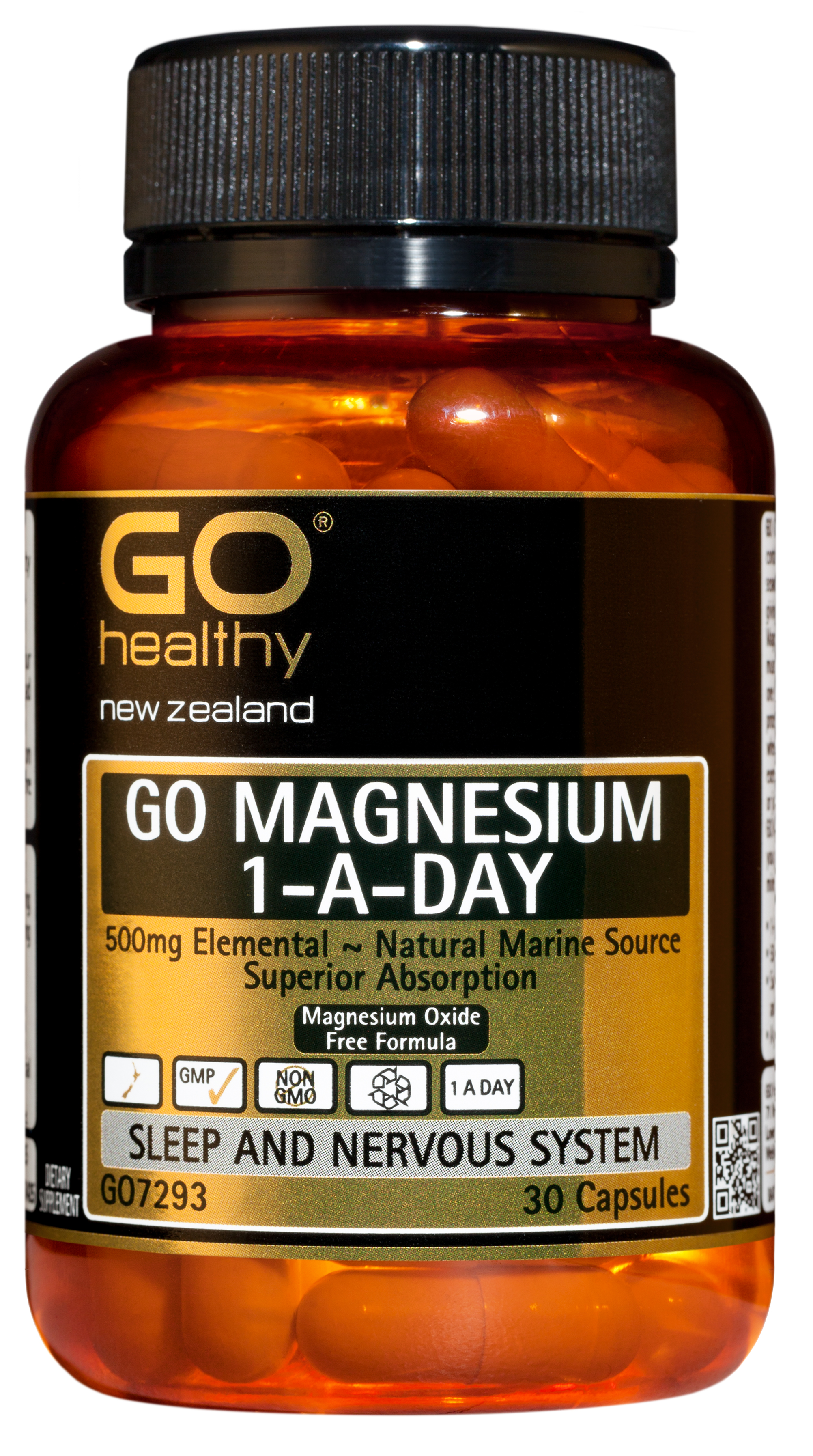 GO Healthy Magnesium 1-A-Day 30 Capsules